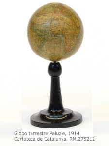 RM.275512 Globo terrestre Paluzie 1914